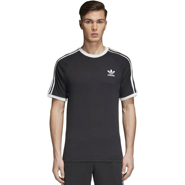 adidas Originals 3-STRIPES TEE - T-Shirts (Schwarz | L)