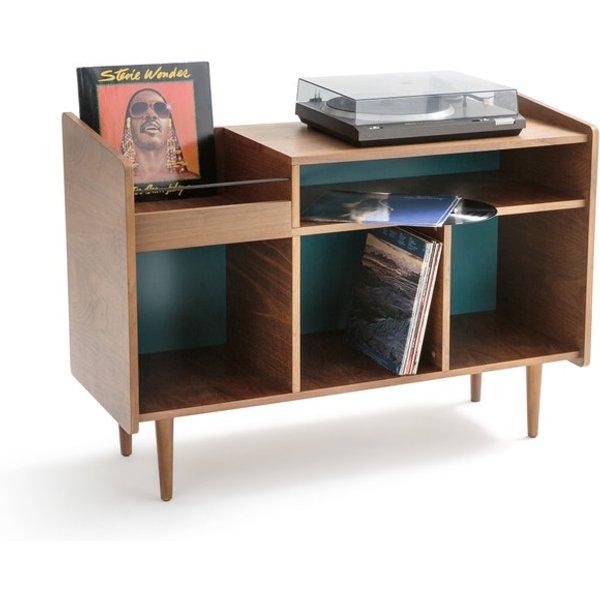 Schallplatten-Sideboard RONDA, Vintage-Look