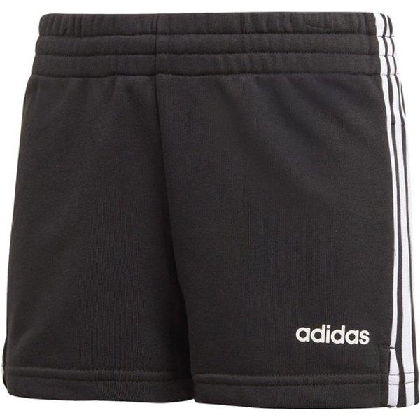 adidas Essentials 3-Stripes Shorts Filles - Noir , Blanc