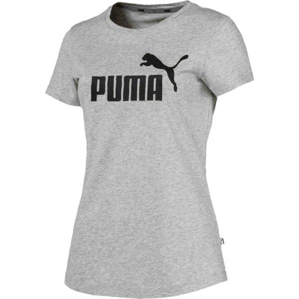 Puma Damen T-Shirt, Rundhals, kurzarm ESS Logo M (851787-01)