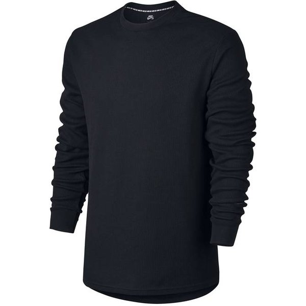 Tee shirt col rond uni, manches longues