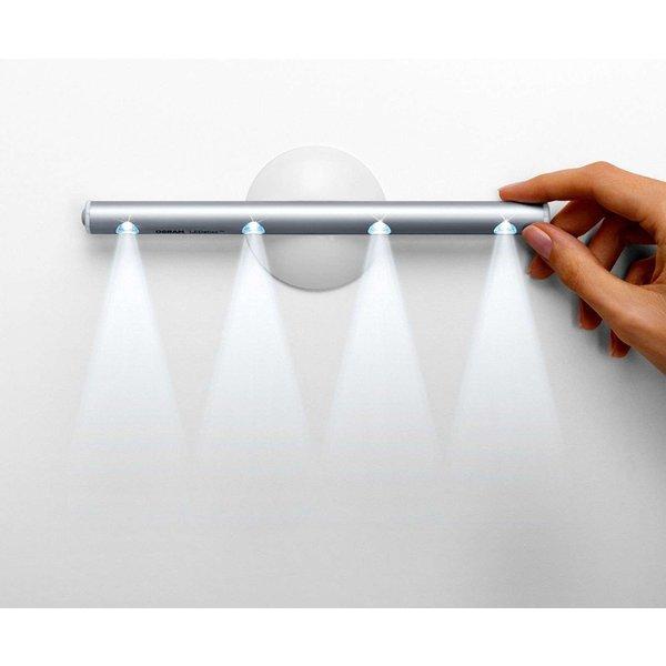 LEDVANCE LEDSTIXX LED Mobiler Helfer 22,2 cm Aluminium Silber