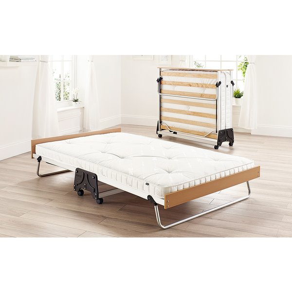 Jay-Be J-Bed Folding Bed with Anti-Allergy Micro e-Pocket Sprung Mattress, Single