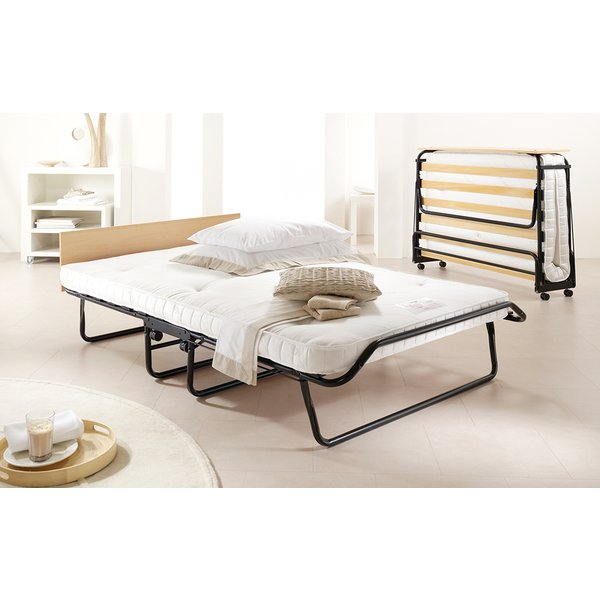 Jay-Be Jubilee Folding Bed with Micro e-Pocket Sprung Mattress, Single