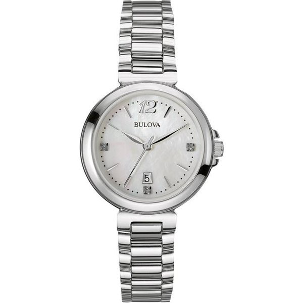 Ladies Bulova Diamond Gallery Diamond Watch (96P149)