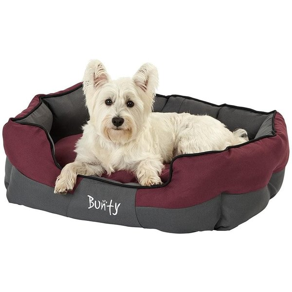 Bunty Anchor Waterproof Dog Bed Red/Large