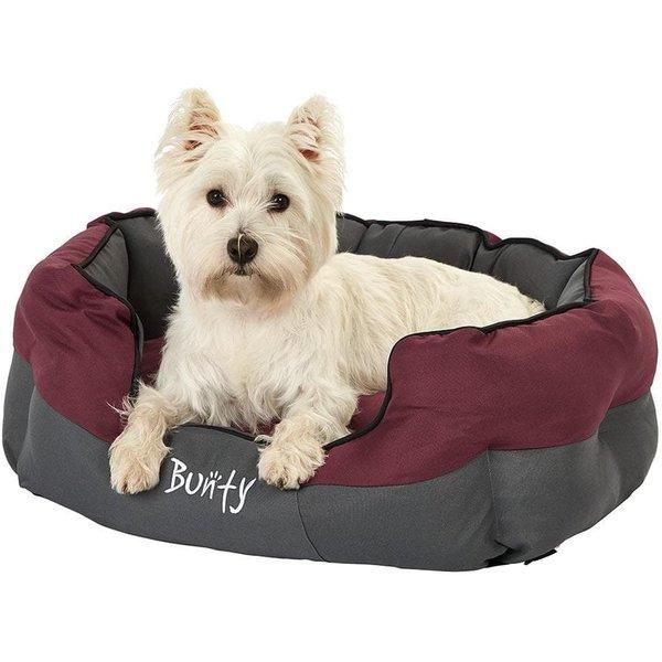 Bunty Anchor Waterproof Dog Bed Red/Medium