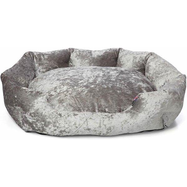 Bunty Bellagio Crushed Velvet Dog Bed Extra Large