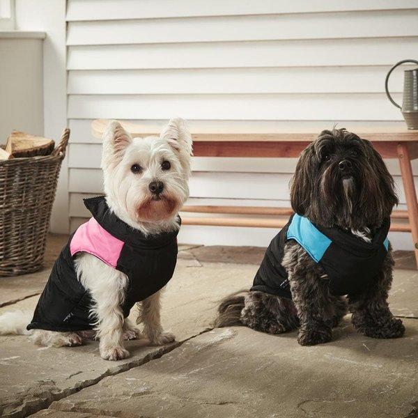 Bunty Dog Puffer Jacket Pink/Small