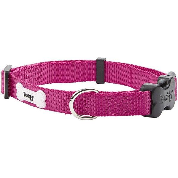 Middlewood Nylon Dog Collar Pink/Large