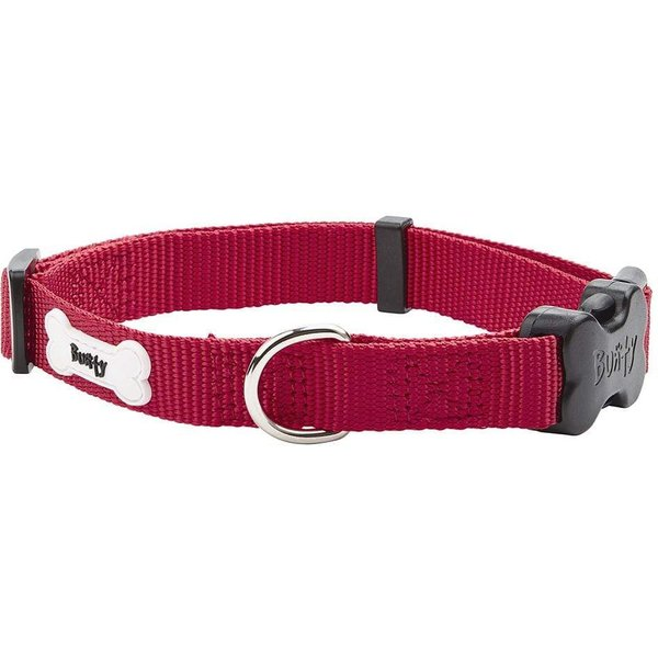 Middlewood Nylon Dog Collar Red/Medium