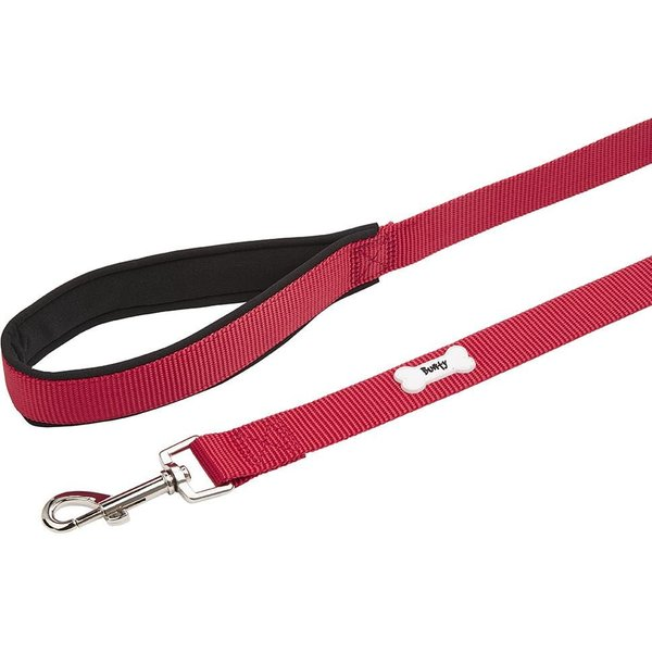 Middlewood Nylon Dog Lead Red