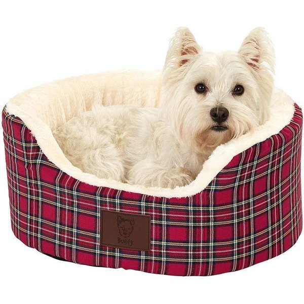 Bunty Heritage Bed Red/Small