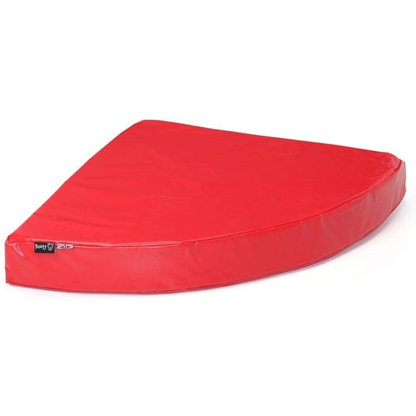 Bunty Outback Hard-Wearing Corner Bed Red/Large