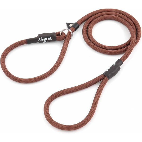 Bunty Slip-on Rope Dog Lead Brown/X-Large - 12mm