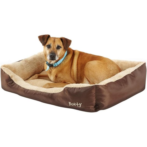 Deluxe Soft Washable Dog Pet Bed Brown / X-Large