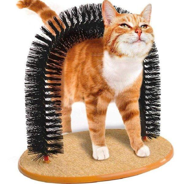 Cat Massage Arch Brush
