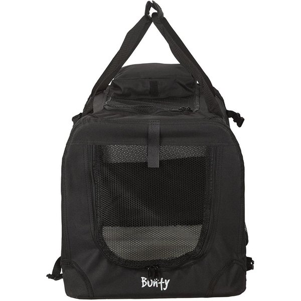 Bunty Fabric Pet Carrier Black/Small