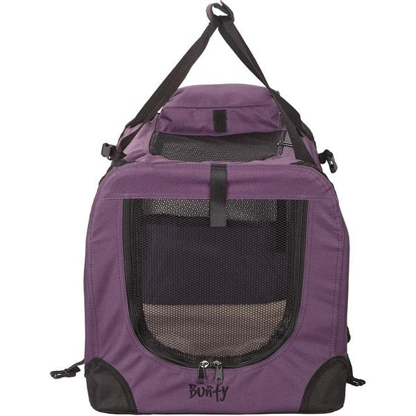 Bunty Fabric Pet Carrier Purple/Extra Large