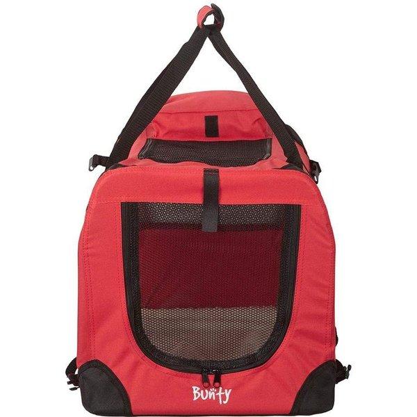 Bunty Fabric Pet Carrier Red/Medium