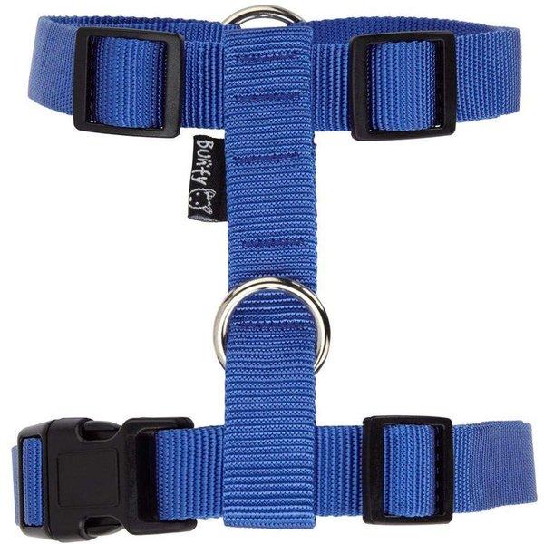 Bunty Adjustable Nylon Harness Vest Blue/Small