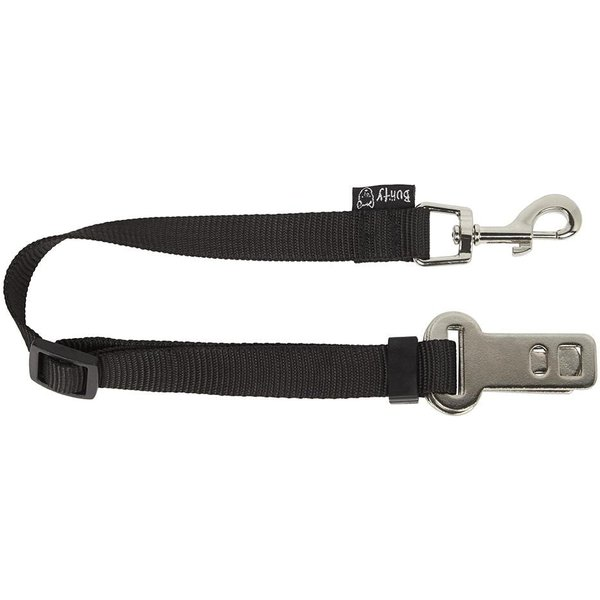 Safety Travel Seat Belt Restraint Harness Clip Black