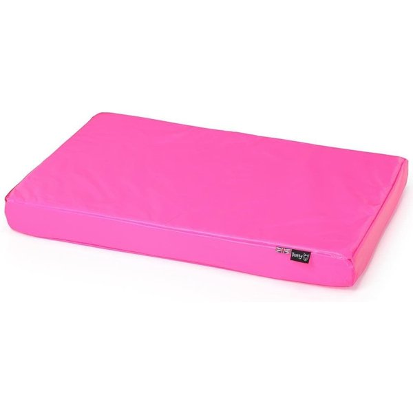 Bunty Outback Hard-Wearing Dog Bed Mattress Pink/Small