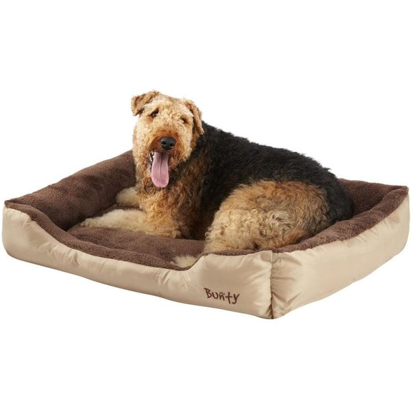 Deluxe Soft Washable Dog Pet Bed Cream/XX-Large