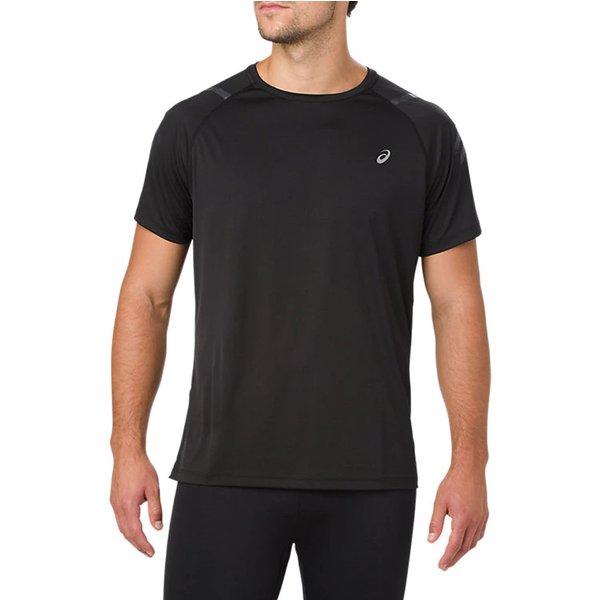 Asics Icon Short Sleeve T Shirt men's T shirt in Black