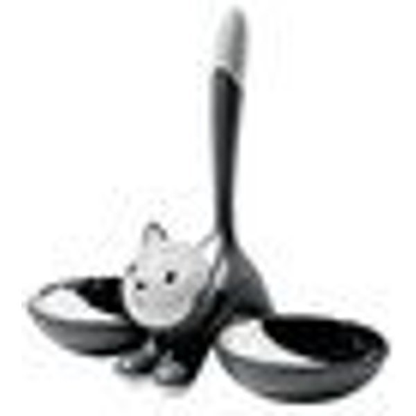 ALESSI SPA - Gamelle pour chat tigrito gris