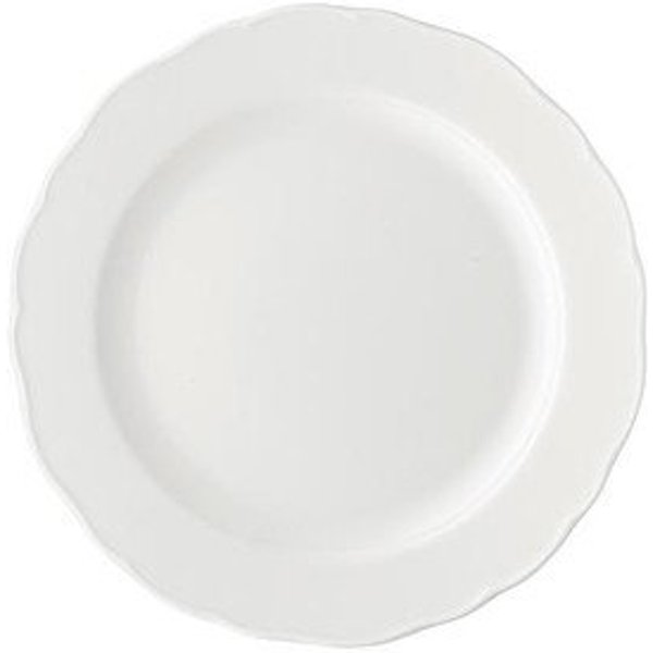 Hutschenreuther 'Maria Theresia white' Dinner Plate 25 cm