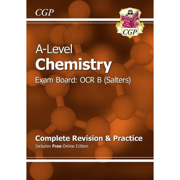 A-Level Chemistry: OCR B Year 1 & 2 Complete Revision & Practice with Online Edition
