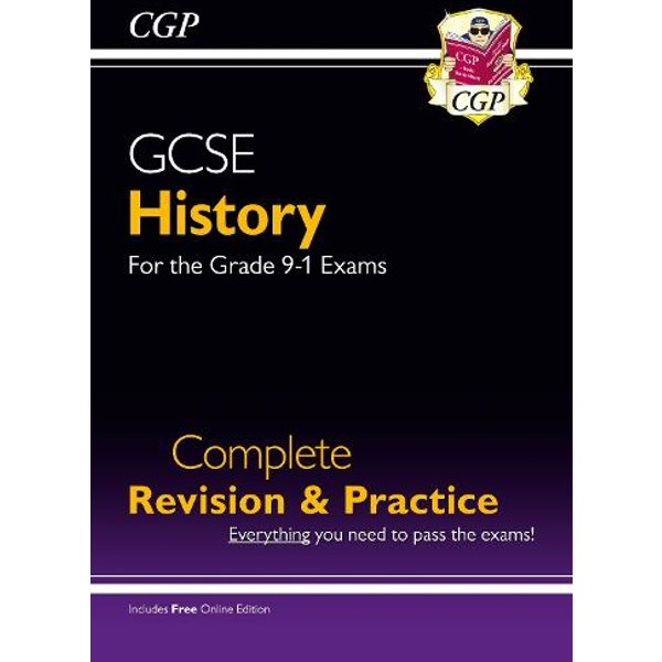 GCSE History Complete Revision & Practice - for the Grade 9-1 Course (with Online Edition)