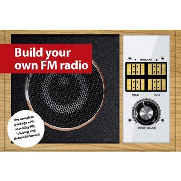 Franzis Verlag 65261 UKW-Retroradio zelfbouw Radio rétro à partir de 14 ans