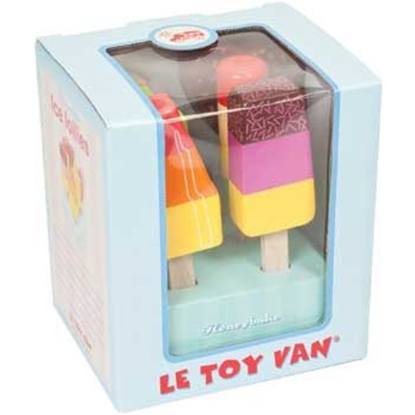 Wooden Ice Lolly Set