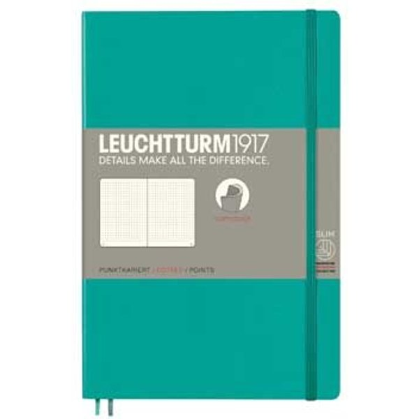 Emerald B6 Dotted Soft Cover Notebook