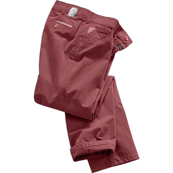 Artikel klicken und genauer betrachten! - Club of Comfort: Hose in Swing-Pocket-Form sowie formstabiler und bewegungselastischer Stretch-Qualität. Mit innenliegendem Dehnbund, abgerundeten seitlichen Taschen und 1 kleinem Münztäschen. 2 eingearbeitete Gesäßtaschen mit Knopf.   im Online Shop kaufen