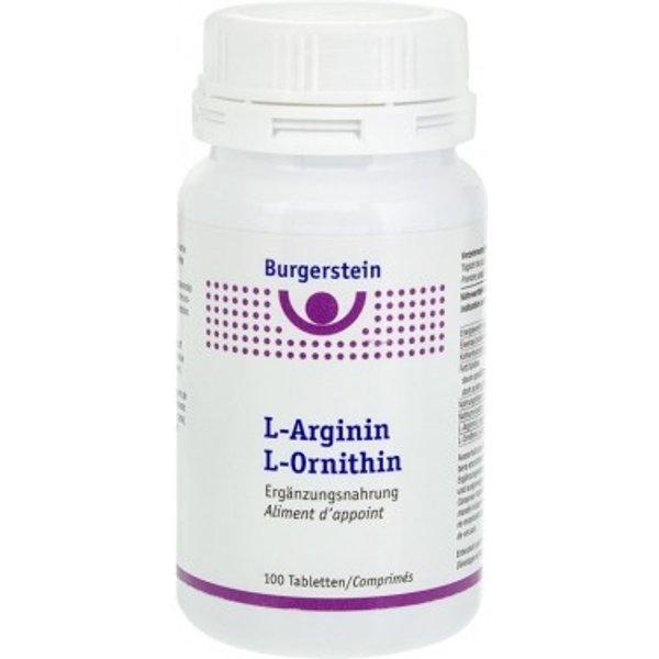 Burgerstein L-Arginin L-Ornithin 100 Tabletten