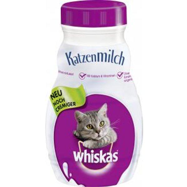 Whiskas Cat Milk 6 x 200ml - 6 x 200ml