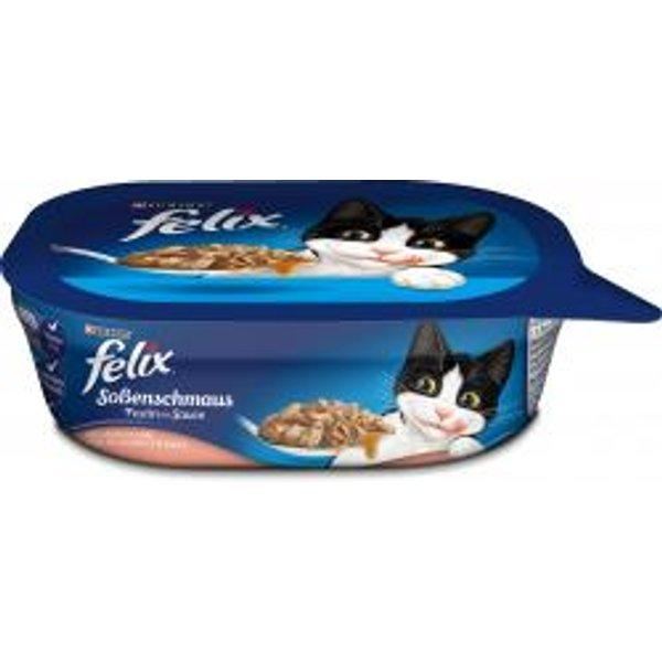 Felix Aussi Bon Meat Flavoured Cat Food in Gelée 4x100g