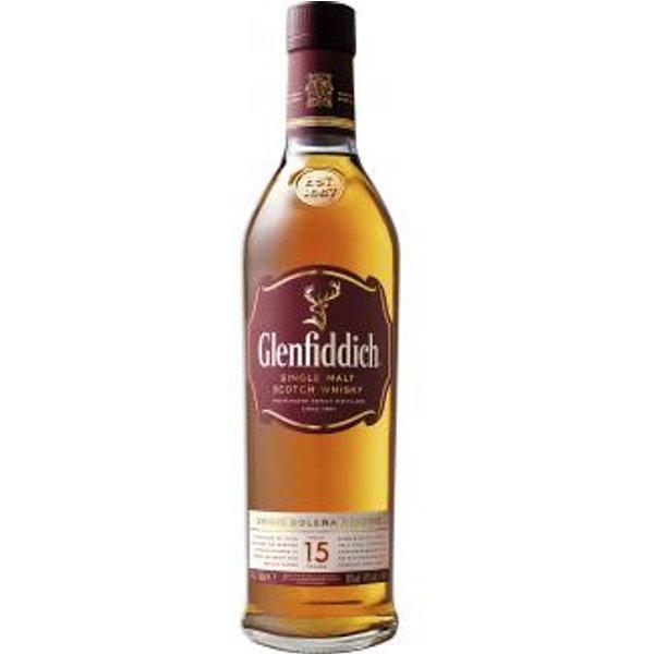 Glenfiddich 15 Year Old / Solera Speyside Single Malt Scotch Whisky