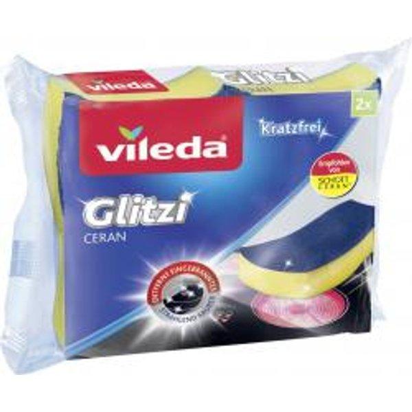 VILEDA Glitzi Ceran - Éponge pour vitrocéramique (-)