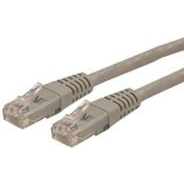 StarTech.com 15m Cat 6 Gray Molded RJ45 UTP Gigabit Cat6 Patch Cable