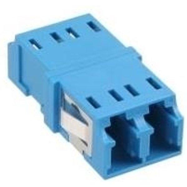 InLine LWL Kupplung Duplex LC/LC singlemode blau Keramik-Hülse