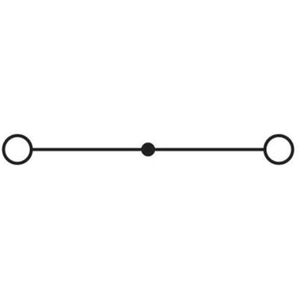 Phoenix Contact UKH 70-3L/N 3076361 Hochstromklemme Polzahl: 8 25 mm² 70 mm² Grau, Blau 3 St.