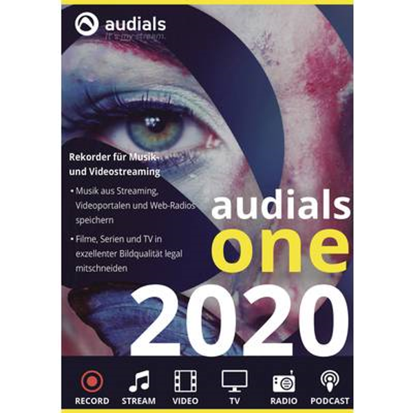 CDR Audials ONE 2020 /D