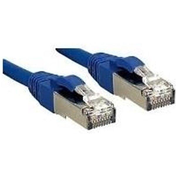 LINDY Premium Patch-Kabel - 2 m - Blau (45643)