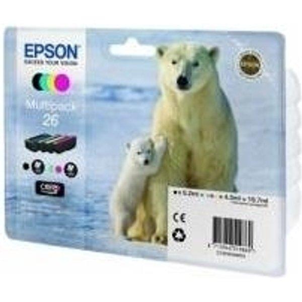 Epson Multipack 26 Claria Ink Cartridge