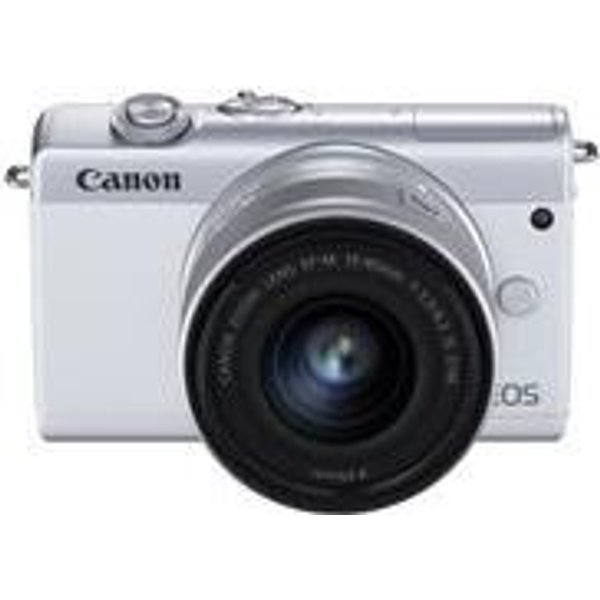 Canon EOS M200 + 15-45mm Blanc