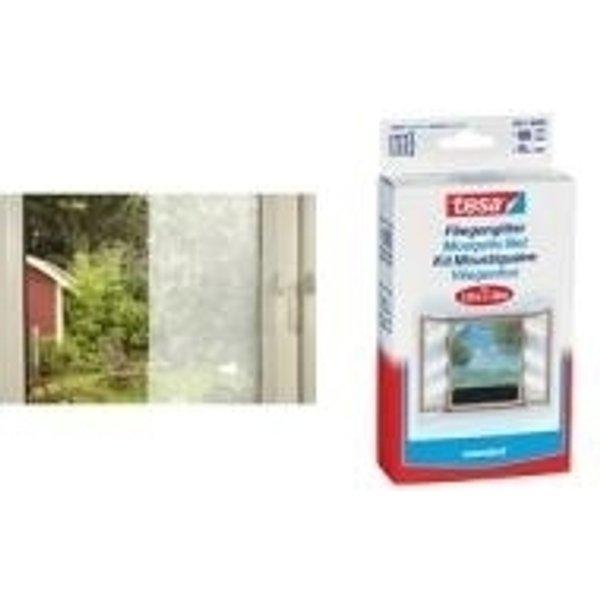 Moustiquaire pour fenêtre tesa 55670-21 (L x l) 1000 mm x 1000 mm anthracite 1 pc(s)